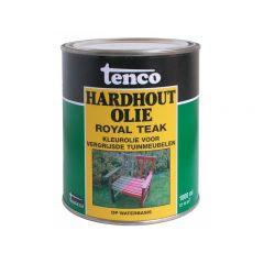 Tenco hardhoutolie royal teak - 1 liter