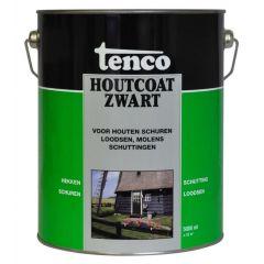Tenco houtcoat zwart - 5 liter