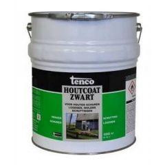 Tenco houtcoat zwart - 25 liter