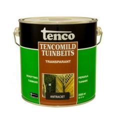 Tenco tencomild tuinbeits transparant antraciet - 2,5 liter