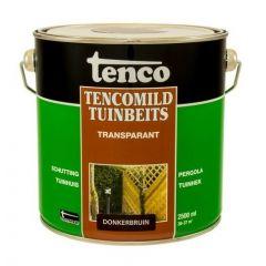 Tenco tencomild tuinbeits transparant donkerbruin - 2,5 liter