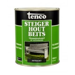 Tenco steigerhoutbeits antraciet - 1 liter