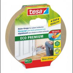 Tesa eco premium afplakband - 50 meter
