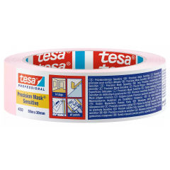 Tesa Precision maskeertape (kwetsbare ondergronden) - 50 meter