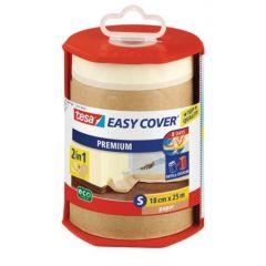 Tesa easy cover afdekfolie + afplakband papier 25 m x 180 mm.