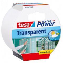 Tesa extra power universal tape transparant - 10 m x 48 mm