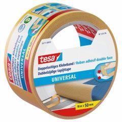 Tesa universal dubbelzijdige tapijttape - 10 m x 50 mm.